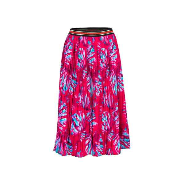 pink, Pleated, skirt, PES, printed, Poland
