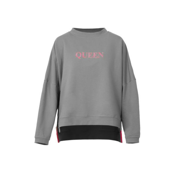 soft , embroidered , Sweatshirt, Gray, Cosel , Poland